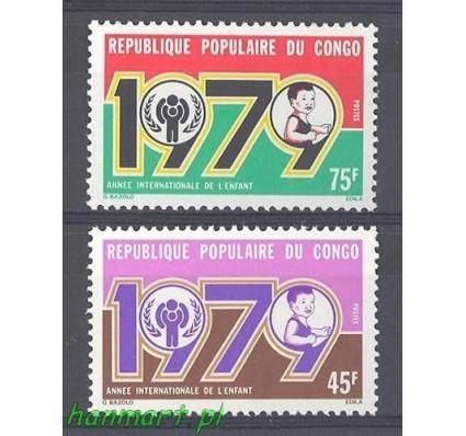 Znaczek Kongo 1979 Mi 676-677 Czyste **