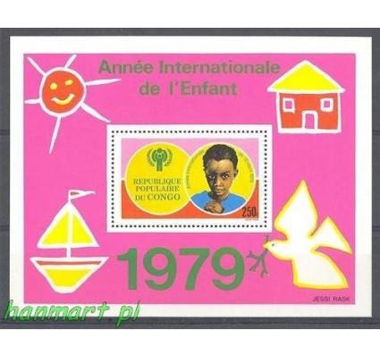 Znaczek Kongo 1979 Mi bl 21 Czyste **