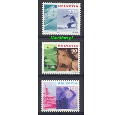 Znaczek Szwajcaria 2001 Mi 1769-1771 Czyste **
