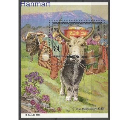 Znaczek Mongolia 1998 Mi bl 281 Czyste **