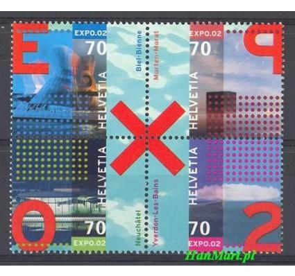 Szwajcaria 2002 Mi 1785-1788 Czyste **
