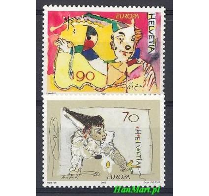 Znaczek Szwajcaria 2002 Mi 1794-1795 Czyste **