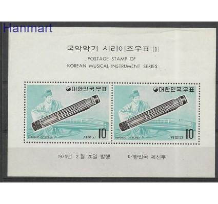 Znaczek Korea Południowa 1974 Mi bl 374 Czyste **