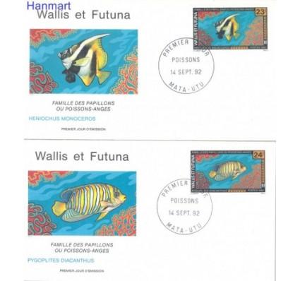 Znaczek Wallis et Futuna 1992 Mi 629-630 FDC