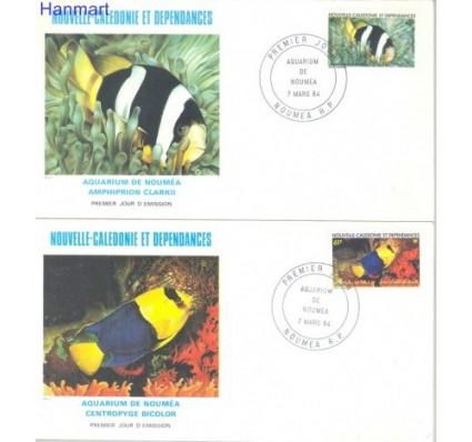 Znaczek Nowa Kaledonia 1984 Mi 733-734 FDC