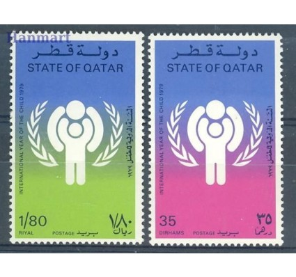 Znaczek Katar 1979 Mi 749-750 Czyste **