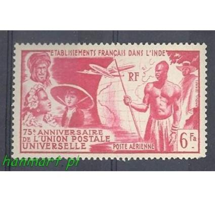 Znaczek Indie Francuskie 1949 Mi 303 Czyste **