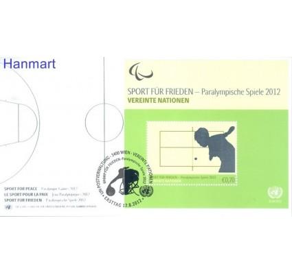 Znaczek Narody Zjednoczone Wiedeń 2012 Mi bl 31 FDC