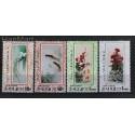 Korea Północna 1998 Mi 4057-4060 Czyste **