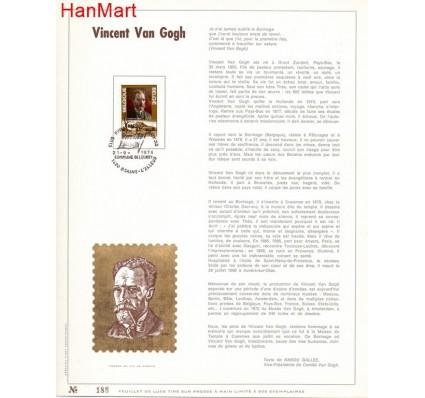Znaczek Belgia 1974 Mi 1777 Pierwszy dzień wydania
