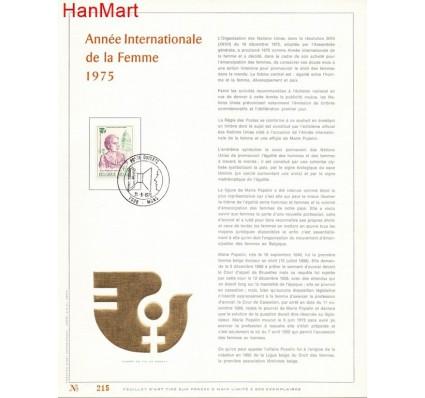 Znaczek Belgia 1975 Mi 1828 Karta Max