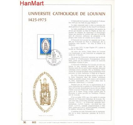 Znaczek Belgia 1975 Mi 1835 Pierwszy dzień wydania