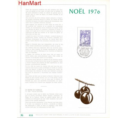 Znaczek Belgia 1976 Mi 1889 Pierwszy dzień wydania
