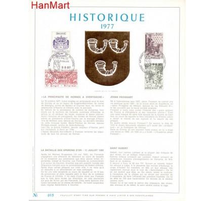 Znaczek Belgia 1977 Mi 1908-1911 Pierwszy dzień wydania