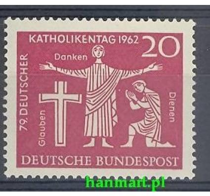 Niemcy 1962 Mi 381 Czyste **