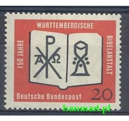 Znaczek Niemcy 1962 Mi 382 Czyste **