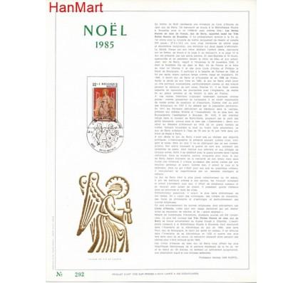 Znaczek Belgia 1985 Mi 2249 Pierwszy dzień wydania
