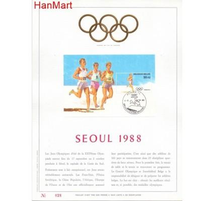 Znaczek Belgia 1988 Mi bl 58 Pierwszy dzień wydania