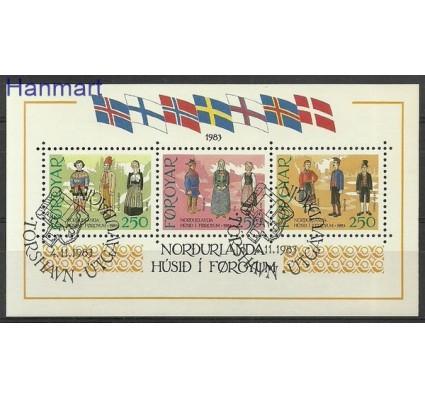 Znaczek Wyspy Owcze 1983 Mi bl 1 Stemplowane