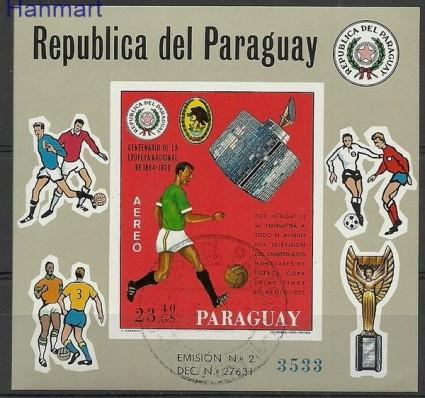 Znaczek Paragwaj 1969 Mi bl 131 Stemplowane