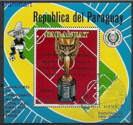 Znaczek Paragwaj 1970 Mi bl 153 Stemplowane
