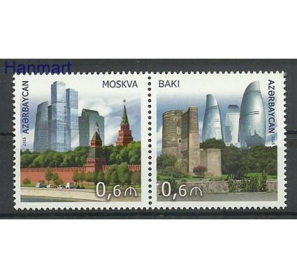 Znaczek Azerbejdżan 2015 Mi 1123-1124 Czyste **