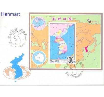 Znaczek Korea Północna 2005 Mi bl 626B FDC
