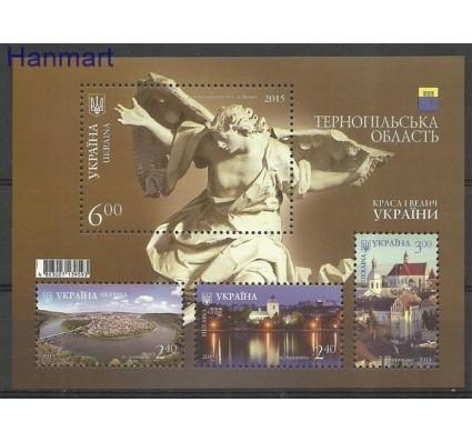 Znaczek Ukraina 2015 Mi bl 129 Czyste **