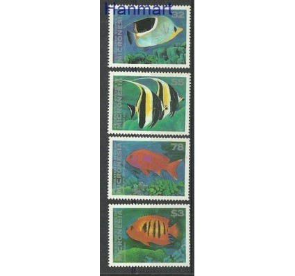Znaczek Mikronezja 1995 Mi 418-421 Czyste **