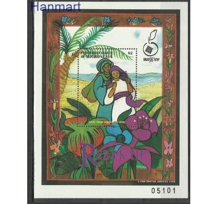 Znaczek Mikronezja 1998 Mi bl 38 Czyste **