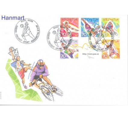 Znaczek Szwajcaria 1998 Mi 1658-1662 FDC