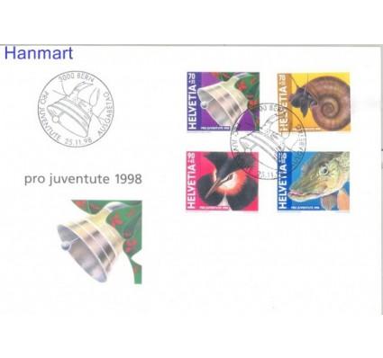 Znaczek Szwajcaria 1998 Mi 1663-1666 FDC