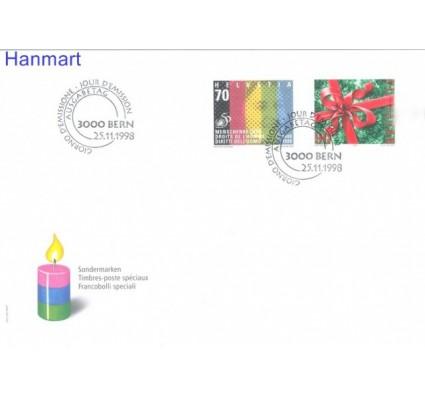 Znaczek Szwajcaria 1998 Mi 1670-1671 FDC