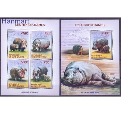 Znaczek Wybrzeże Kości Słoniowej 2014 Czyste **