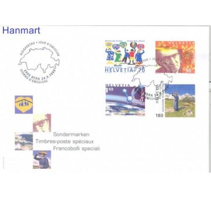 Znaczek Szwajcaria 1999 Mi 1695-1698 FDC