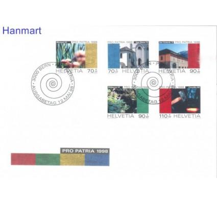 Znaczek Szwajcaria 1998 Mi 1649-1653 FDC