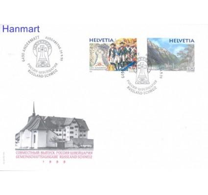Znaczek Szwajcaria 1999 Mi 1699-1700 FDC