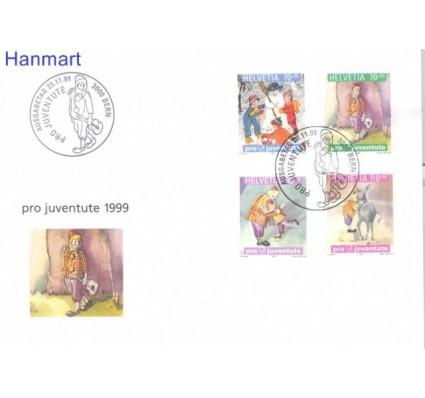 Znaczek Szwajcaria 1999 Mi 1701-1704 FDC