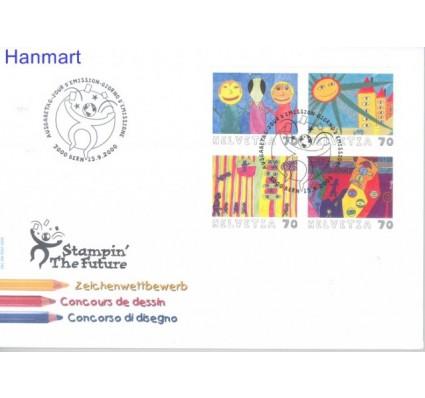 Znaczek Szwajcaria 2000 Mi 1731-1734 FDC