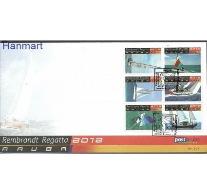 Znaczek Aruba 2012 Mi 667-672 FDC