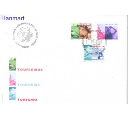Znaczek Szwajcaria 2001 Mi 1769-1771 FDC