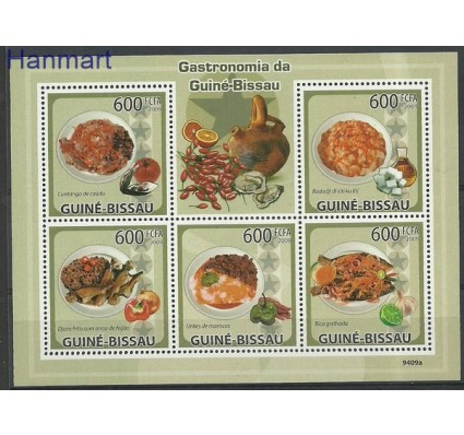 Znaczek Gwinea Bissau 2009 Mi 4367-4371 Czyste **