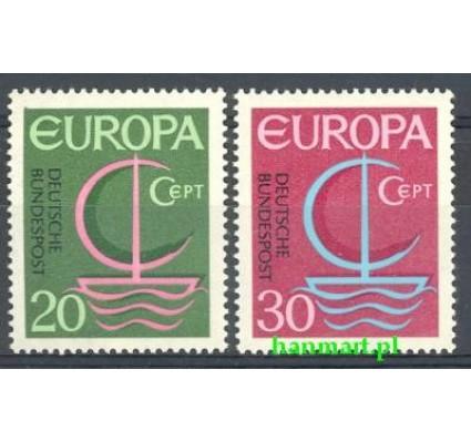 Znaczek Niemcy 1966 Mi 519-520 Czyste **