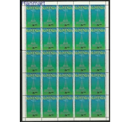 Znaczek Słowenia 1991 Mi ark 1 Czyste **