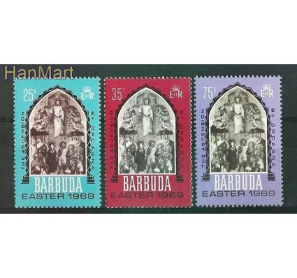 Znaczek Barbuda 1969 Mi 32-34 Czyste **