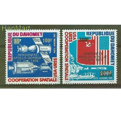 Znaczek Dahomej 1975 Mi 630-631 Czyste **