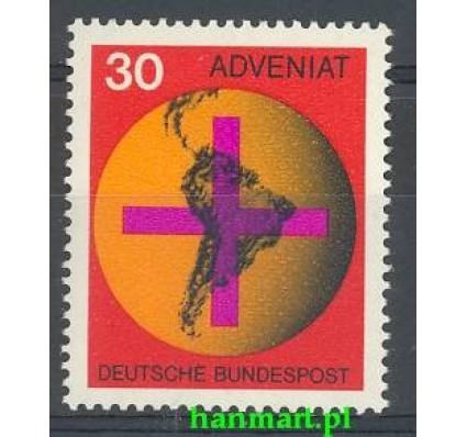 Znaczek Niemcy 1967 Mi 545 Czyste **
