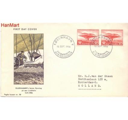 Znaczek Dania 1956 FDC