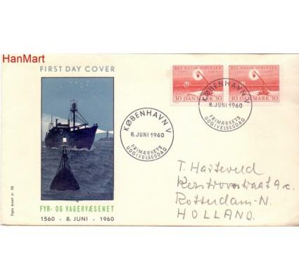 Znaczek Dania 1960 FDC