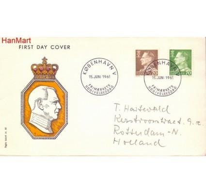 Znaczek Dania 1961 FDC